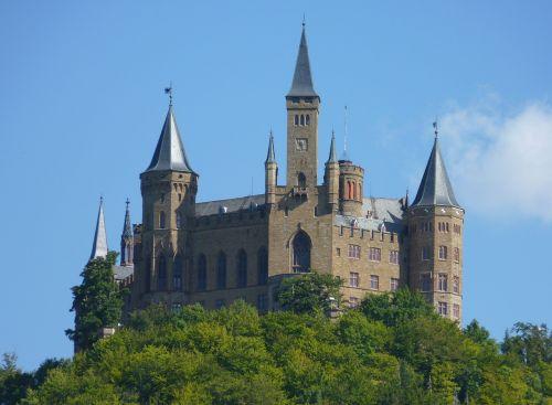 castle hohenzollern knight's castle