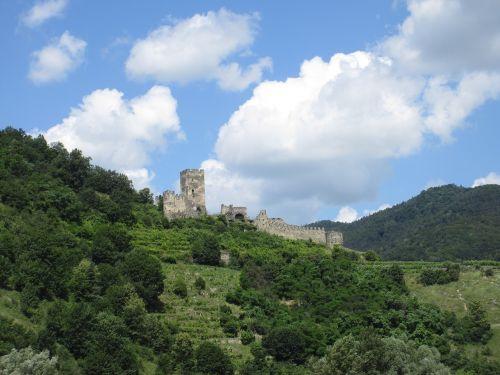 castle ruin austria