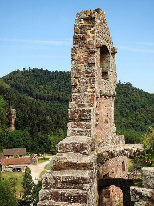 castle ruin middle ages