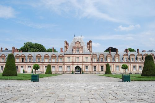 castle imposing symmetrical