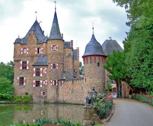castle moated castle wasserschloss