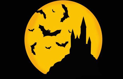 castle moonlight haloween