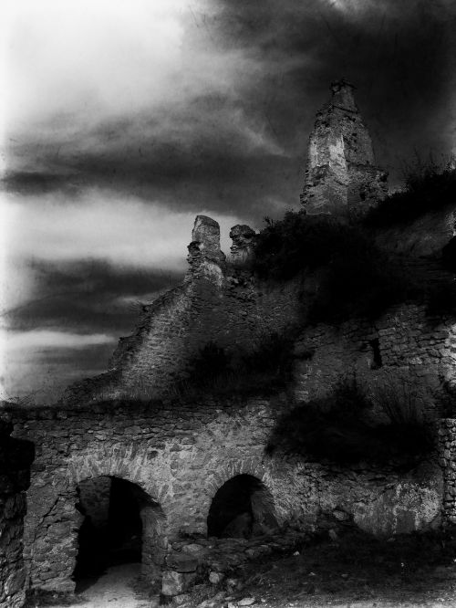 castle fantasy the ruins of the