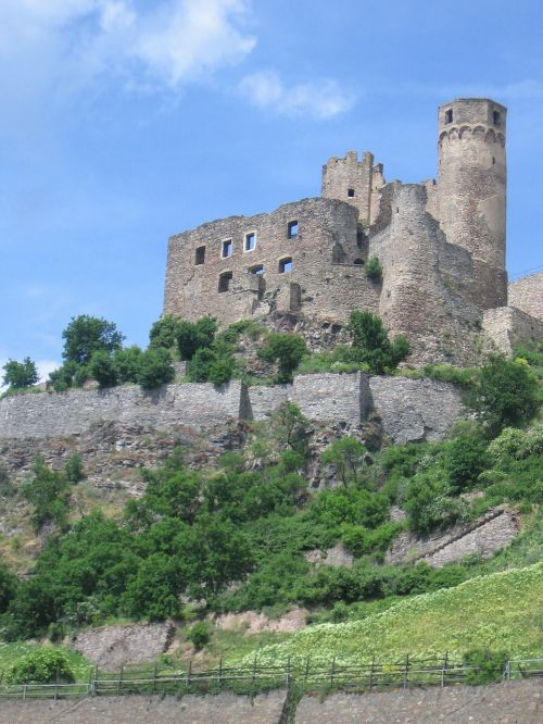 castle ruin germany
