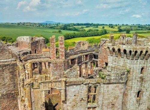 castle wales ruins