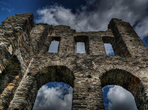 castle middle ages sublime