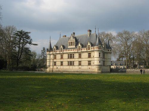 castle azay-le-rideau france
