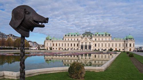 castle belvedere vienna