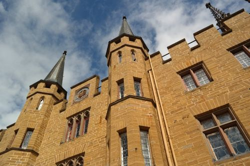 castle fortress hohenzollern