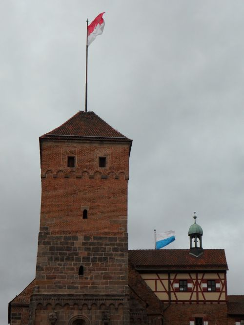 castle imperial castle nuremberg