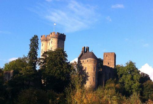 castle ruin building