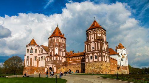 castle belorussian belarus
