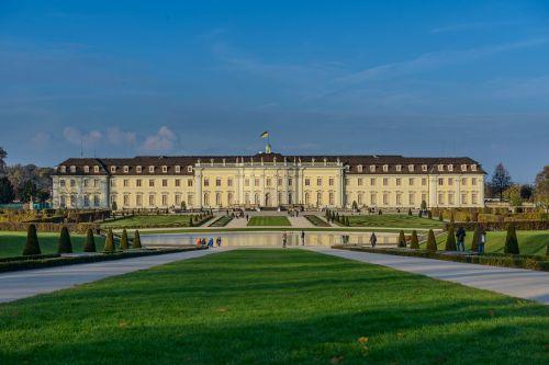 castle blühendes baroque ludwigsburg germany