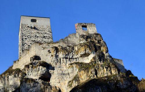 castle castle corrugated home ruin