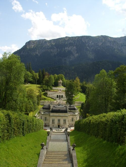 castle linderhof palace king ludwig the second