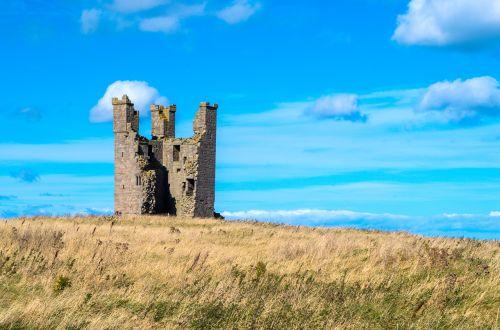 castle ruin tower
