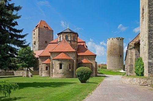 castle querfurt saxony-anhalt