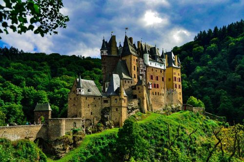 castle nature fairy tales