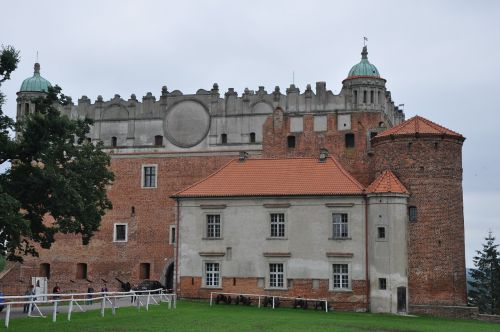 castle castle of the teutonic knights the museum