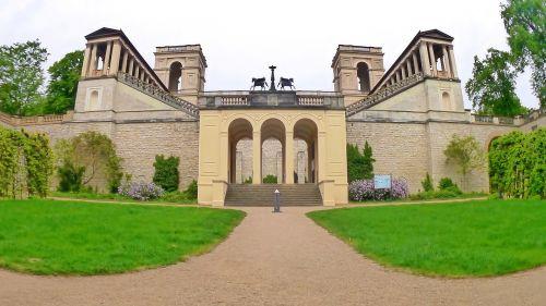 castle potsdam belvedere