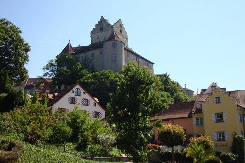 castle meersburg panorama
