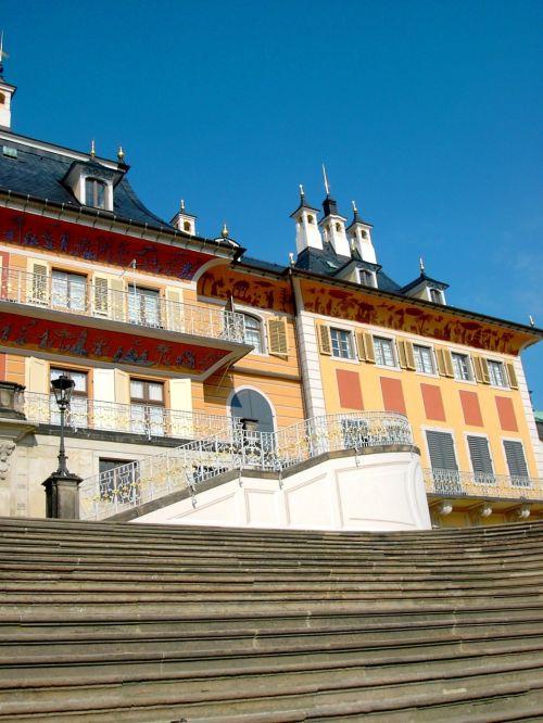 castle pillnitz terrace shores