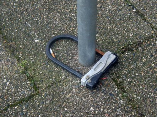 castle bike lock wheel lock