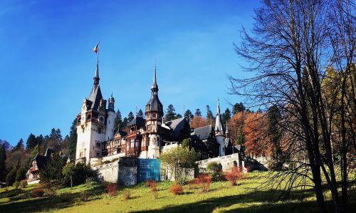 castle romania transylvania