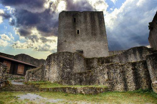 castle ruin knight's castle