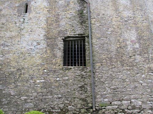 castle window blarney castle