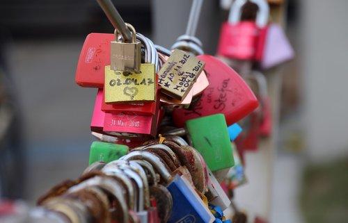 castle  padlock  love