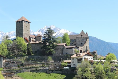 castle  tyrol  south tyrol