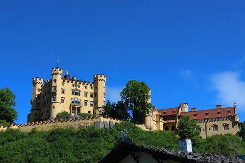 castle  fairy castle  king ludwig