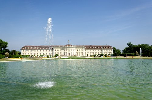 castle  ludwigsburg germany  baroque
