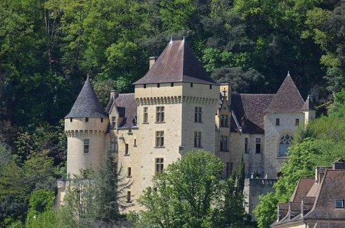 castle  france  dordogne