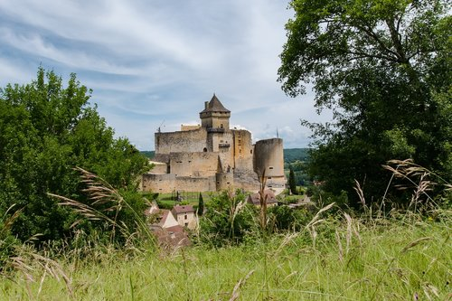 castle  france  périgord