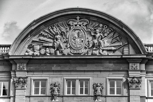 castle  relief  architecture
