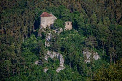 castle  castle rock  fairy tale castle