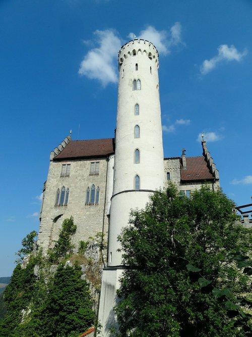 castle  lichtenstein  knight's castle tower