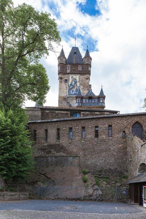 castle  cochem  middle ages