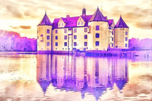 castle  fortress  landmark