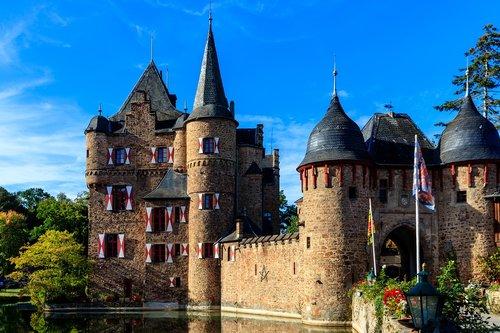 castle  satzvey  burg satzvey