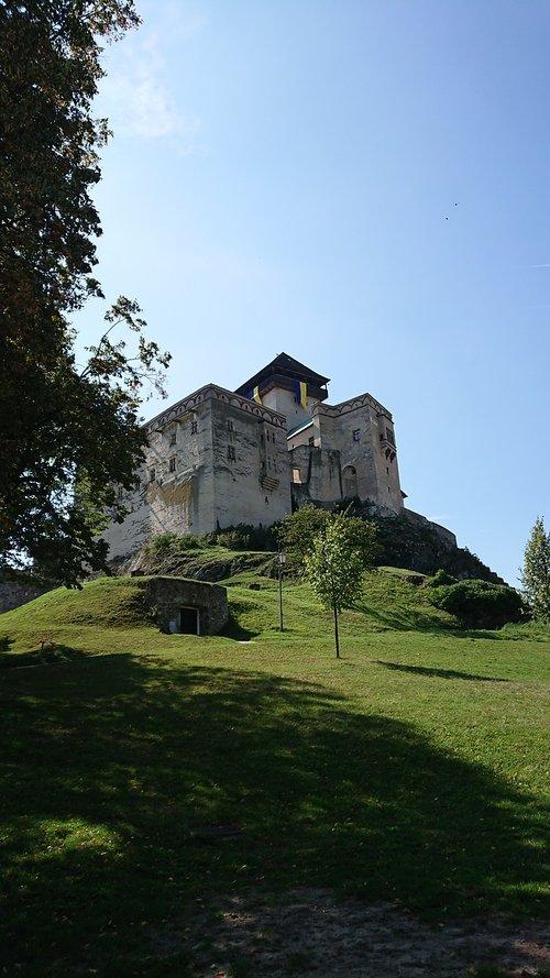 castle  trenčín  slovakia
