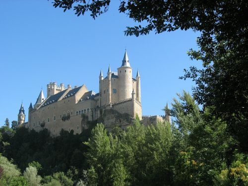 castle segovia spain