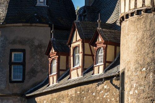 castle  window  roof windows