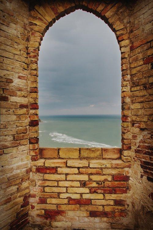 castle  window  architecture