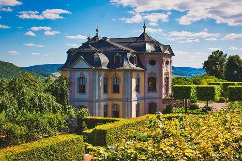 castle  thuringia germany  dornburg