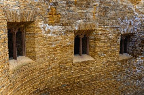 castle  wall  window