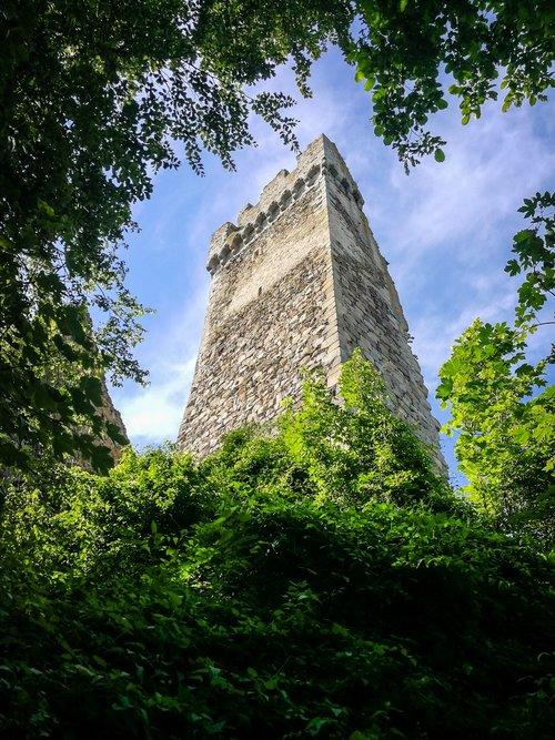 castle  ruin  burgruine