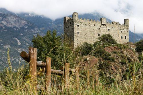 castle ussel aosta